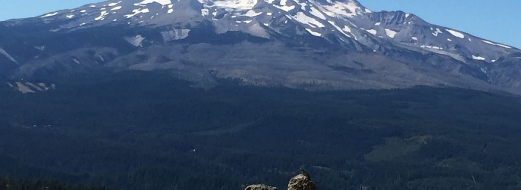 Mt. Hood views all day long