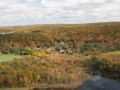the view from the top of the Bluff