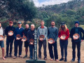 2019 finishers received a gold pan to celebrate their efforts in gold country