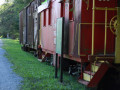 Caboose at Trailhead